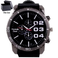 Skywalkgear Javier Fashion Watch - 5551 Black