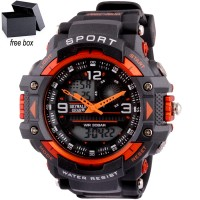 Skywalkgear Waldo Dual Clock Waterproof 30m - 5553 Black/Orange