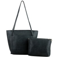 Mangoesteen Bellvania 2in1 Tote & Sling Bag - 782 Black