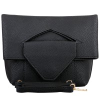 Mangoesteen Shaenette 3in1 Clutch, Hand & Sling Bag -  1801 Black